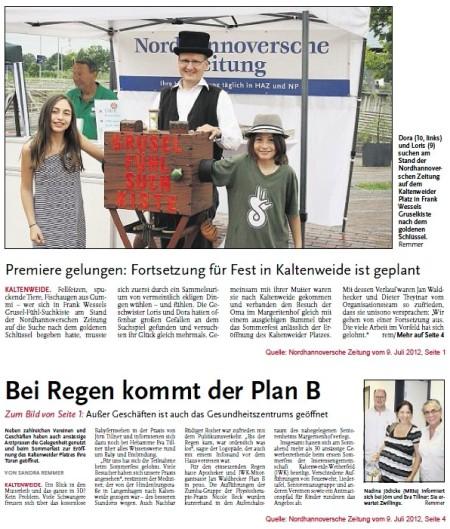 Sommerfest IWK 2012